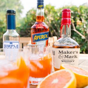 Make a Bourbon Spritz Cocktail