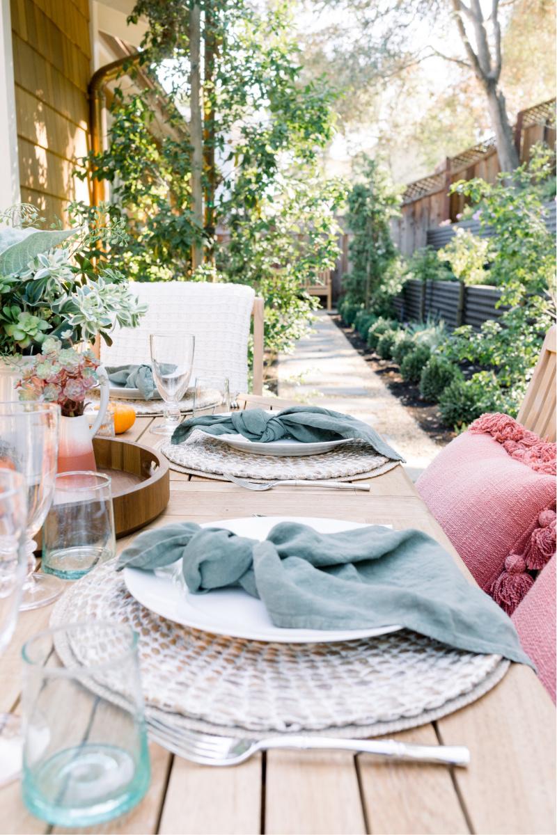 Autumn Outdoor Table Decor