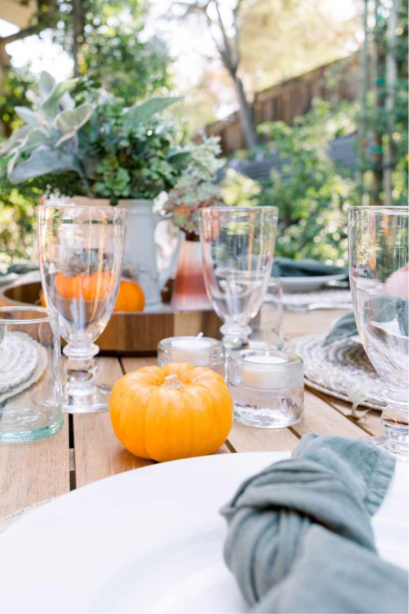 Easy Fall Table Setting