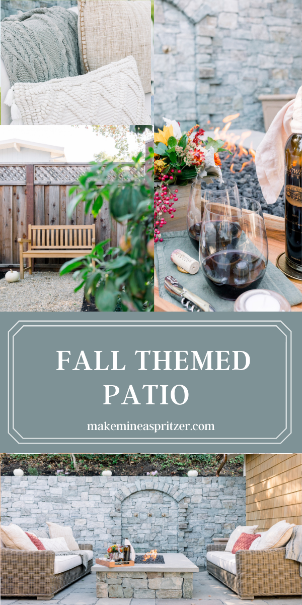 Fall Patio Collage