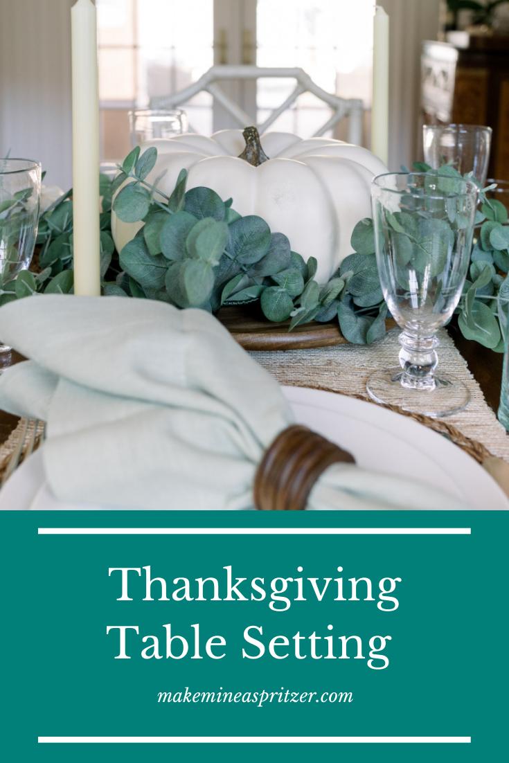 Thanksgiving Table Pin