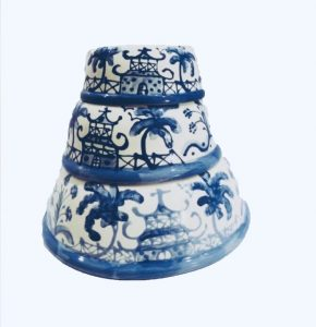 Chinoiserie Dog Bowls