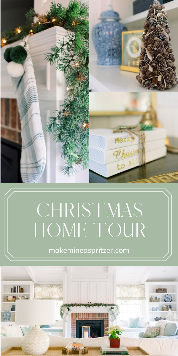 Holiday Home Tour Collage Pin