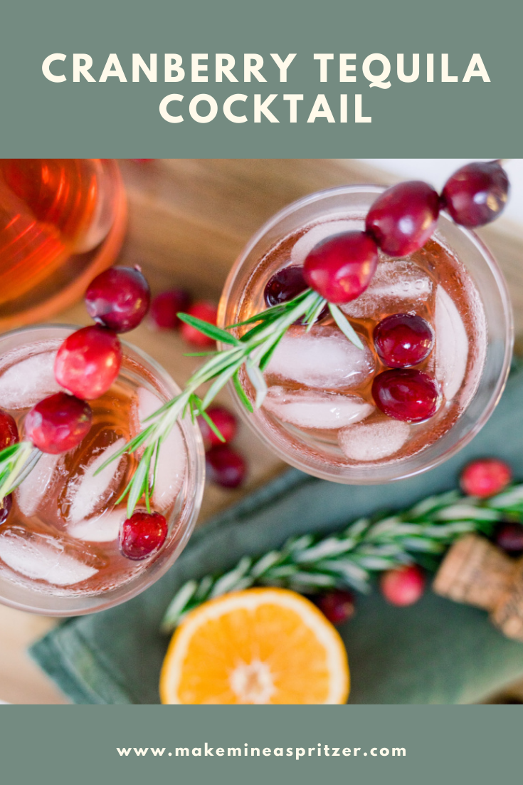 Cranberry Cocktail Pin