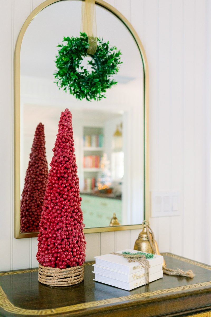 Cranberry Tree, Mirror and Wreath