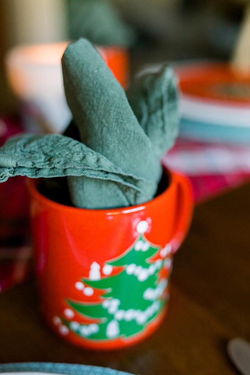Christmas Mug and Napkin