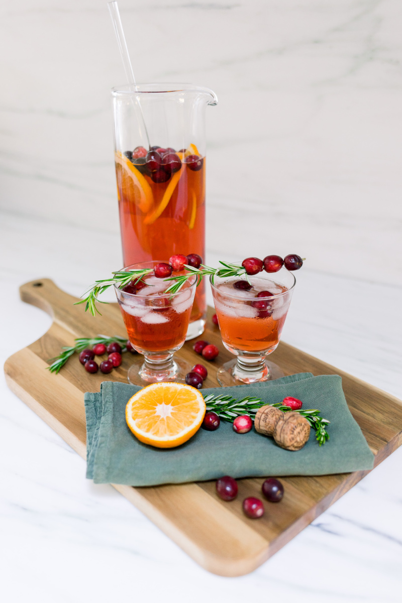 Cranberry Tequila Punch