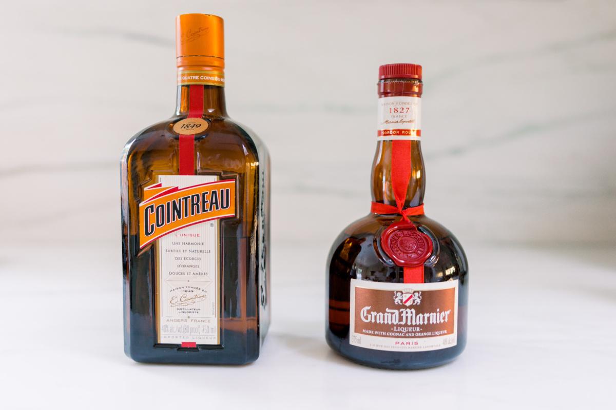 Cointreau and Grand Marnier