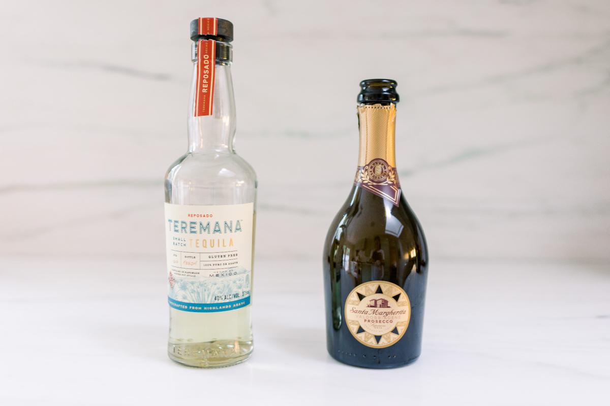 Reposado Tequila and Proseco