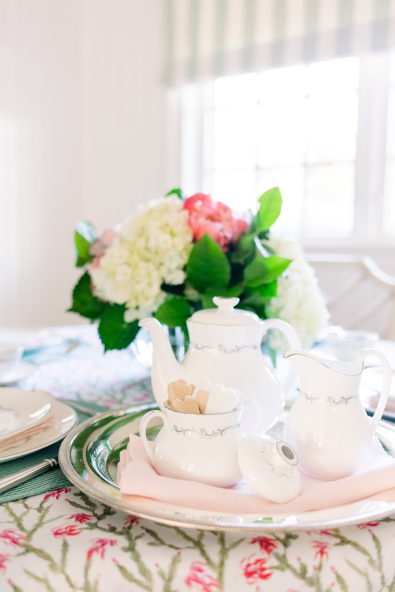 Tea Tray and Table Setting