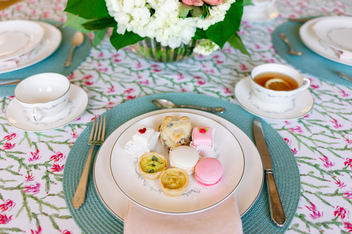 Place Setting for Valentine Tea