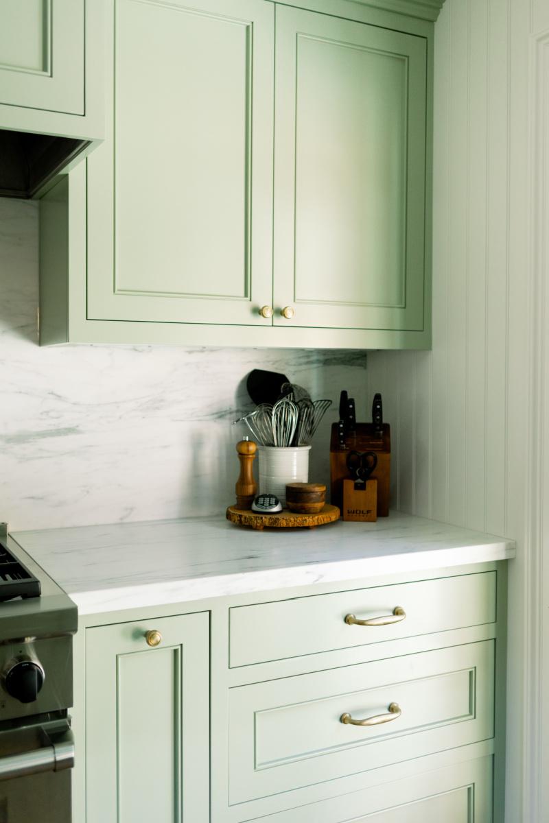 Kitchen Counter Vignette