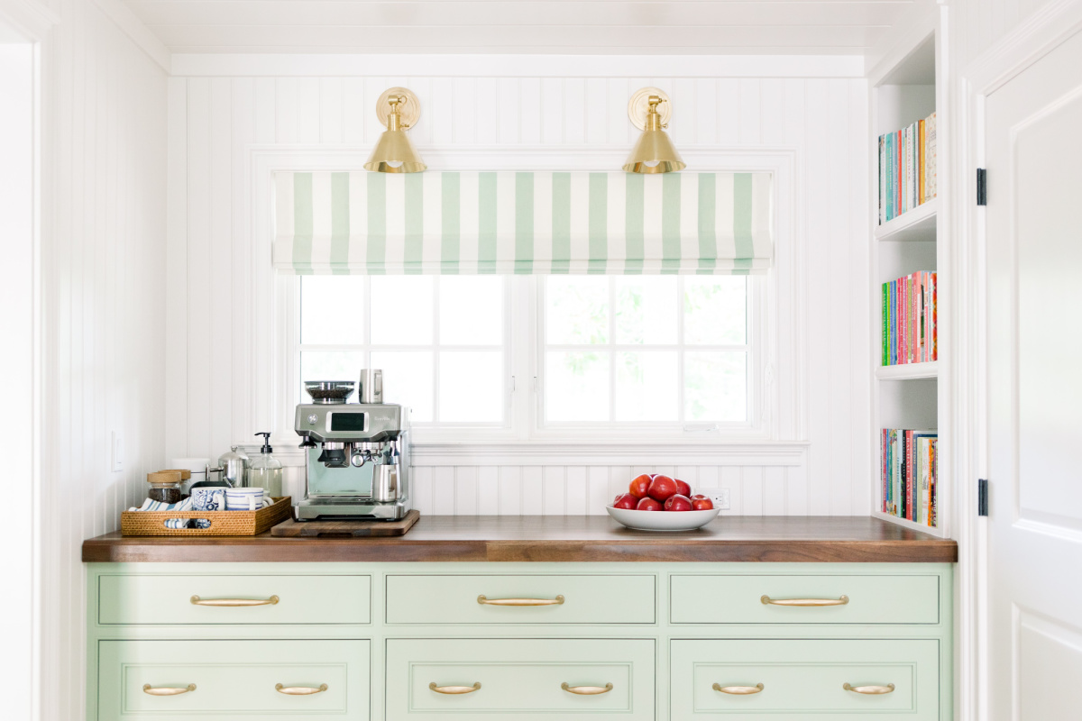 Built-in Buffet and Coffee Station