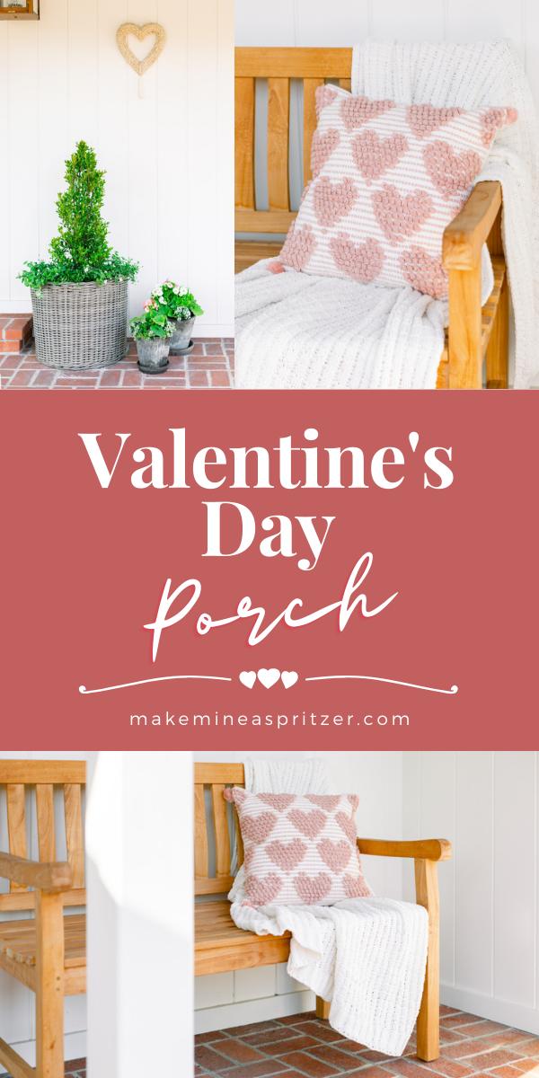 Valentine's Day Porch Pin Collage
