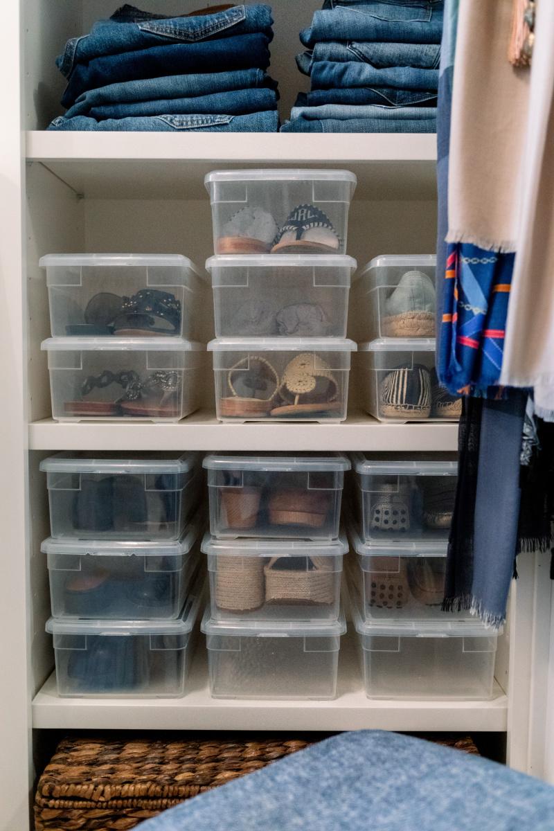 Clear Plastic Shoe Boxes