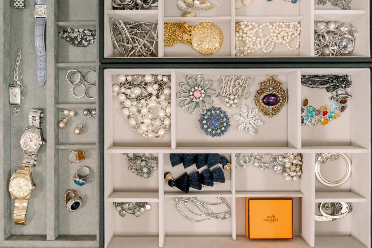 Jewelry Drawer Organization