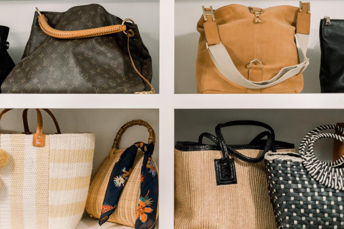 Bags on a Shelf