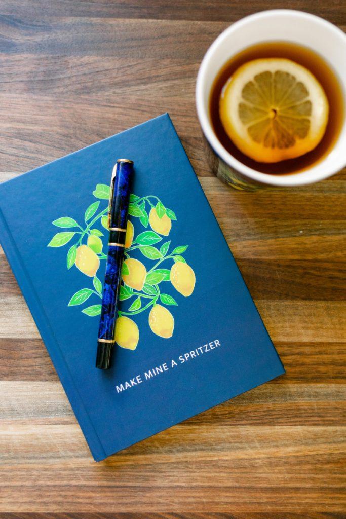Citrus theme notebook
