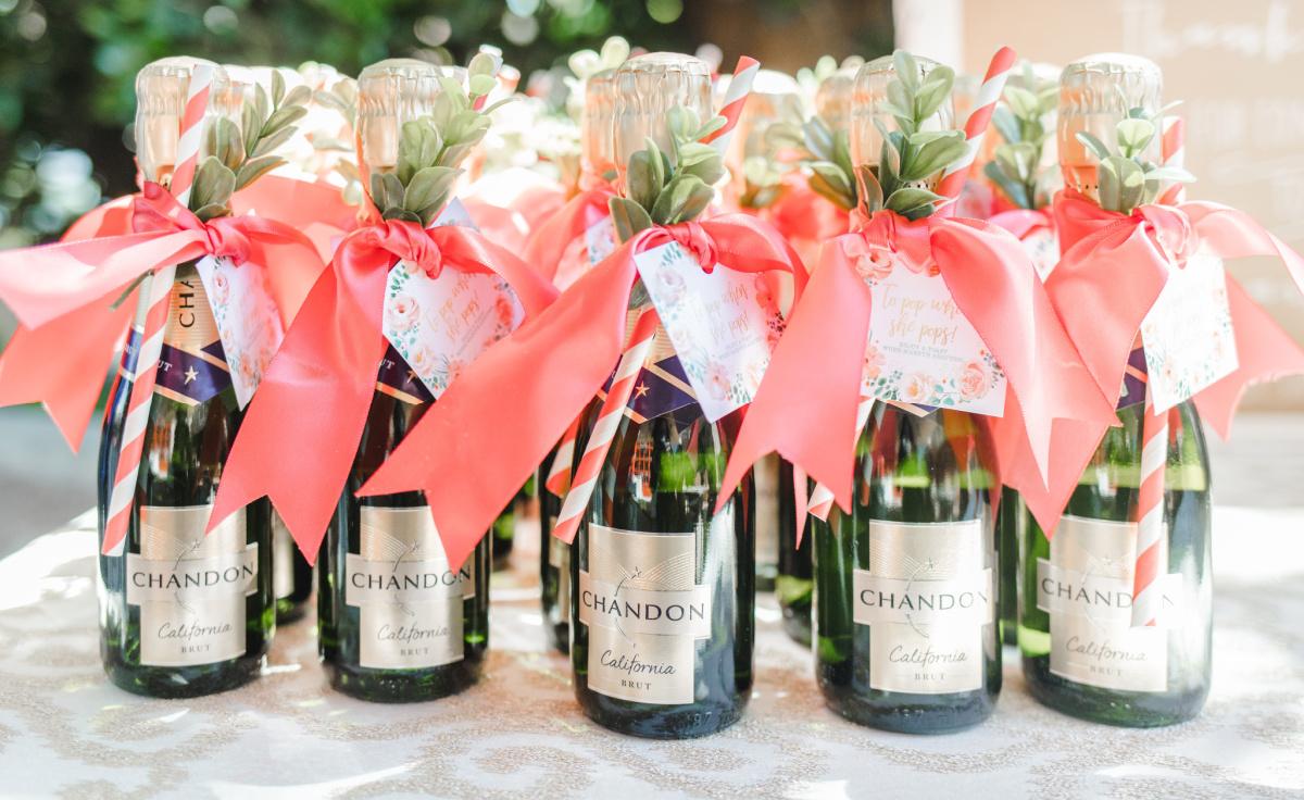 Mini Bottles of Chandon Brut