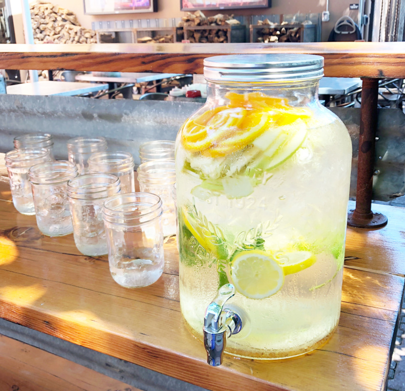 Lemonade Dispenser