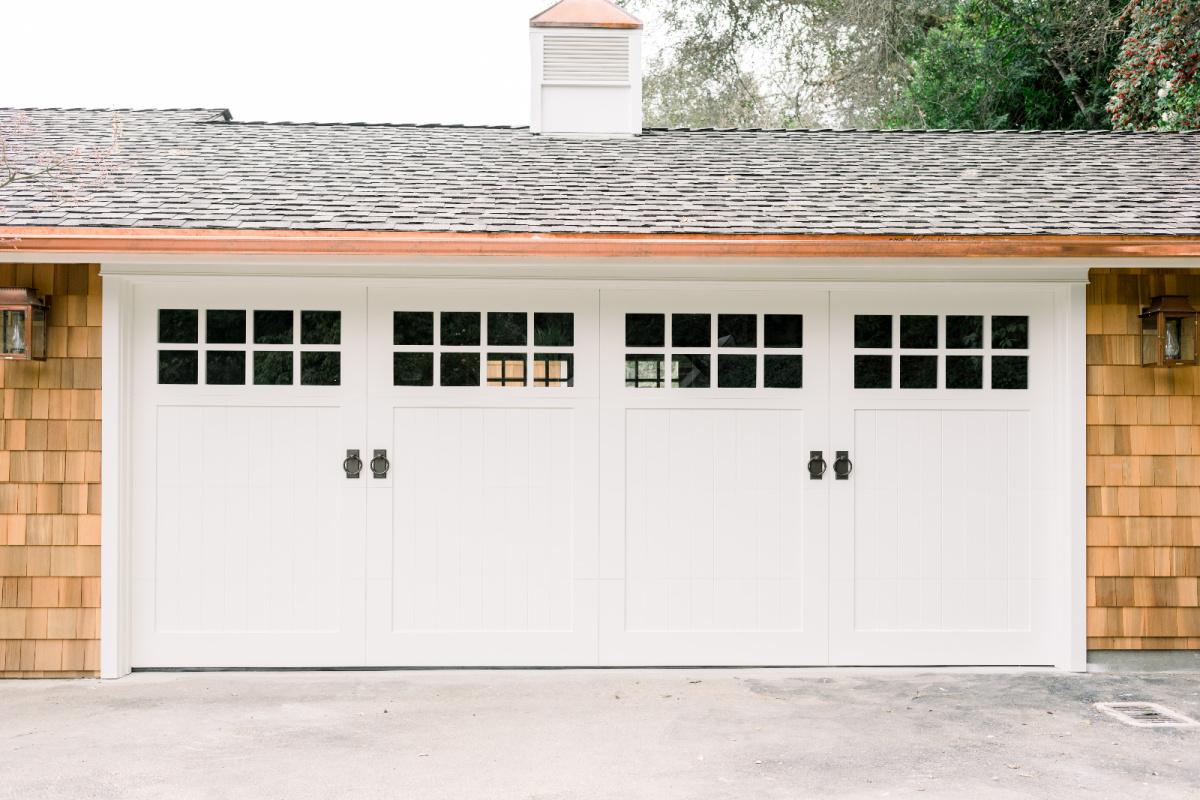 Garage Doors and Cuppola