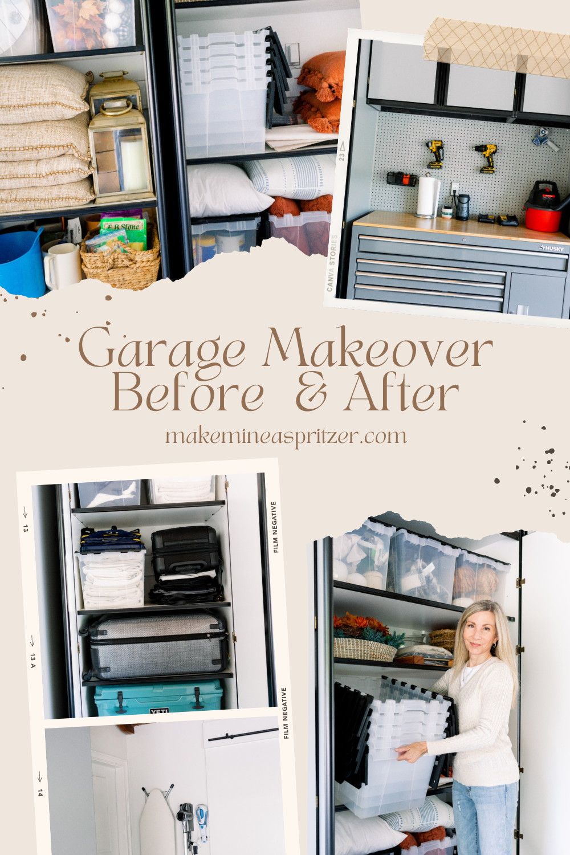 Garage Makeover Pin Collage