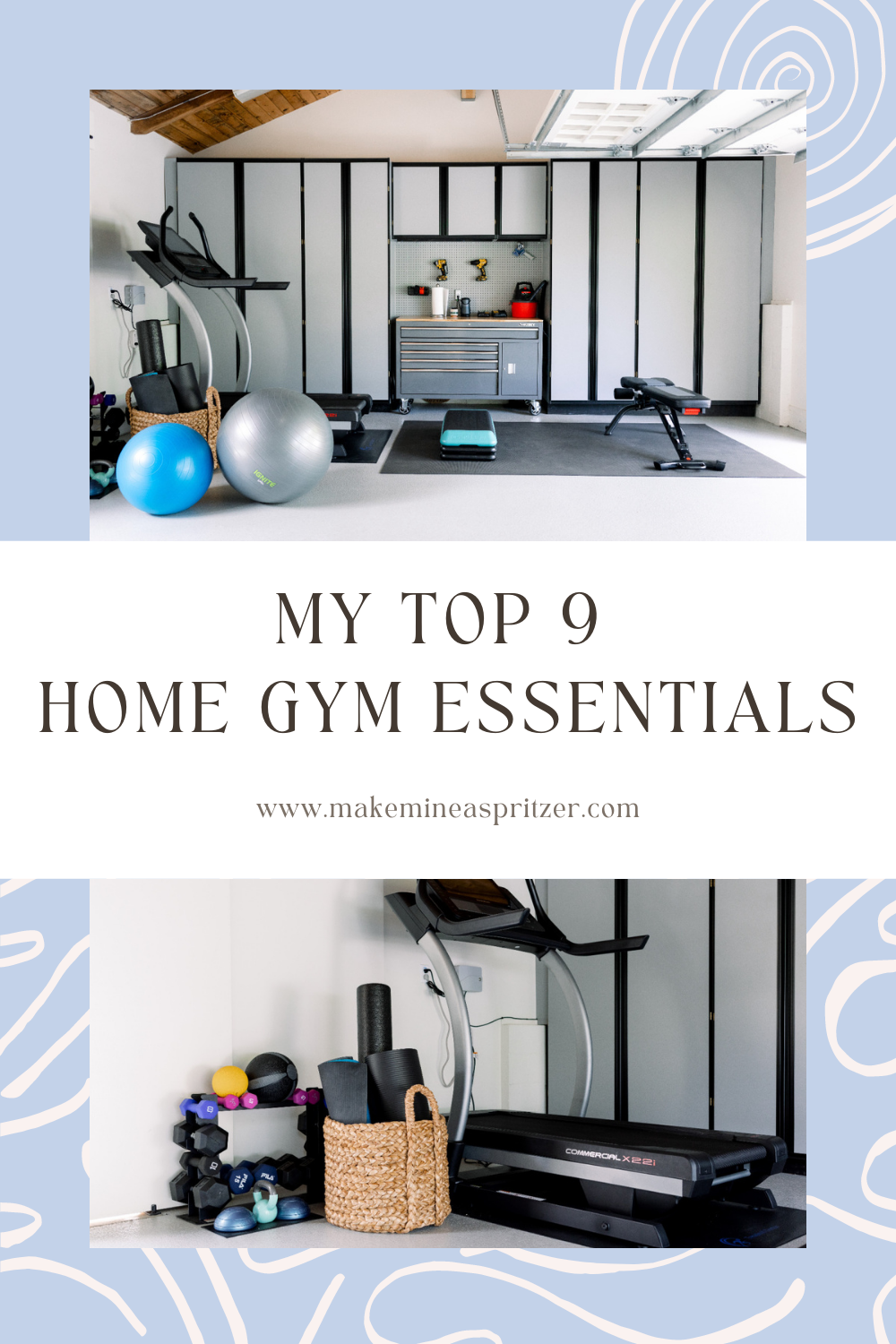 Top 9 Home Gym Essentials Pin Collage