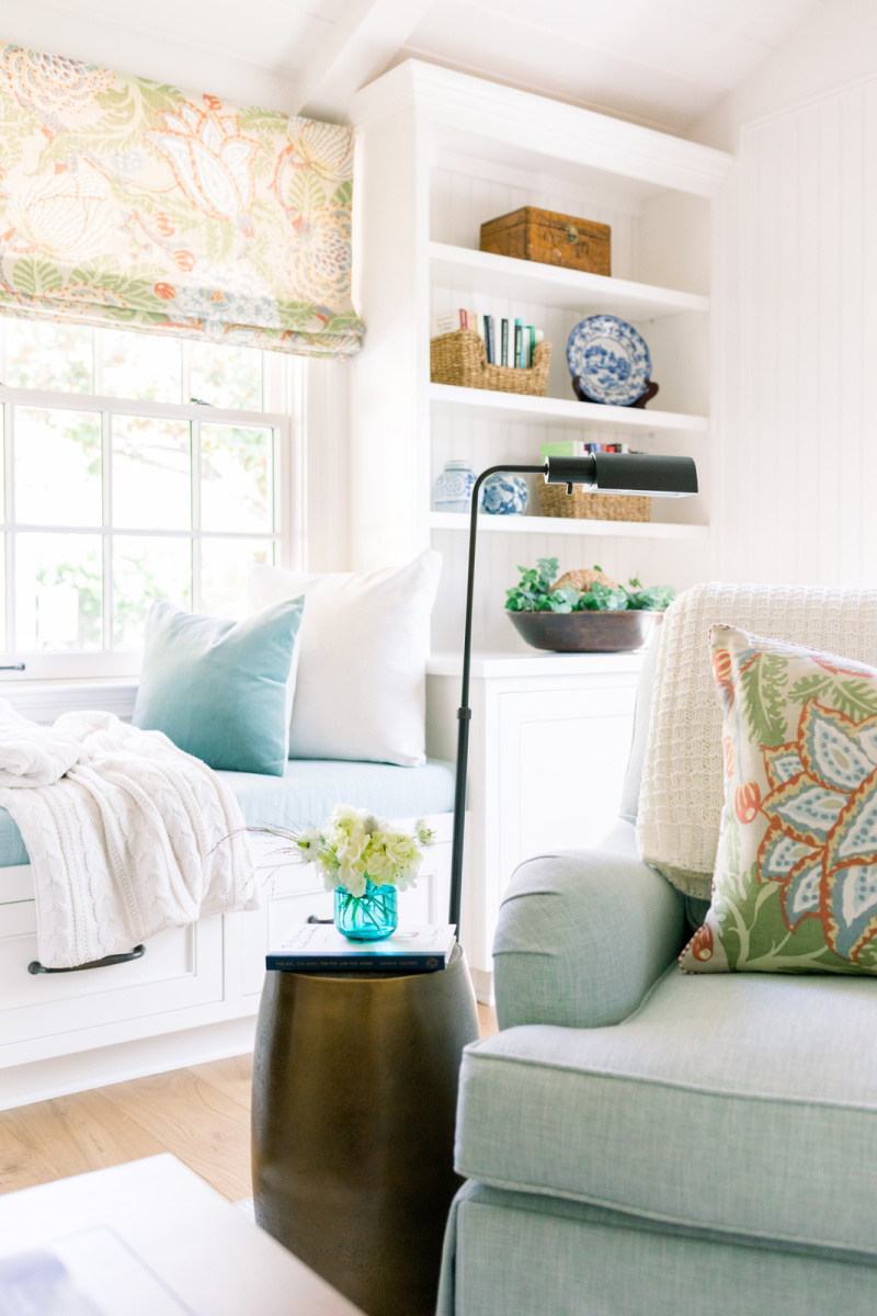 Great room cozy chair in corner