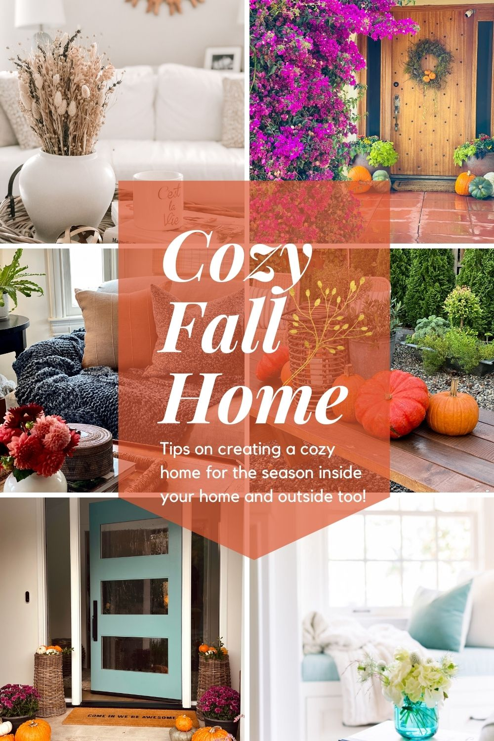 Cozy Home Collage