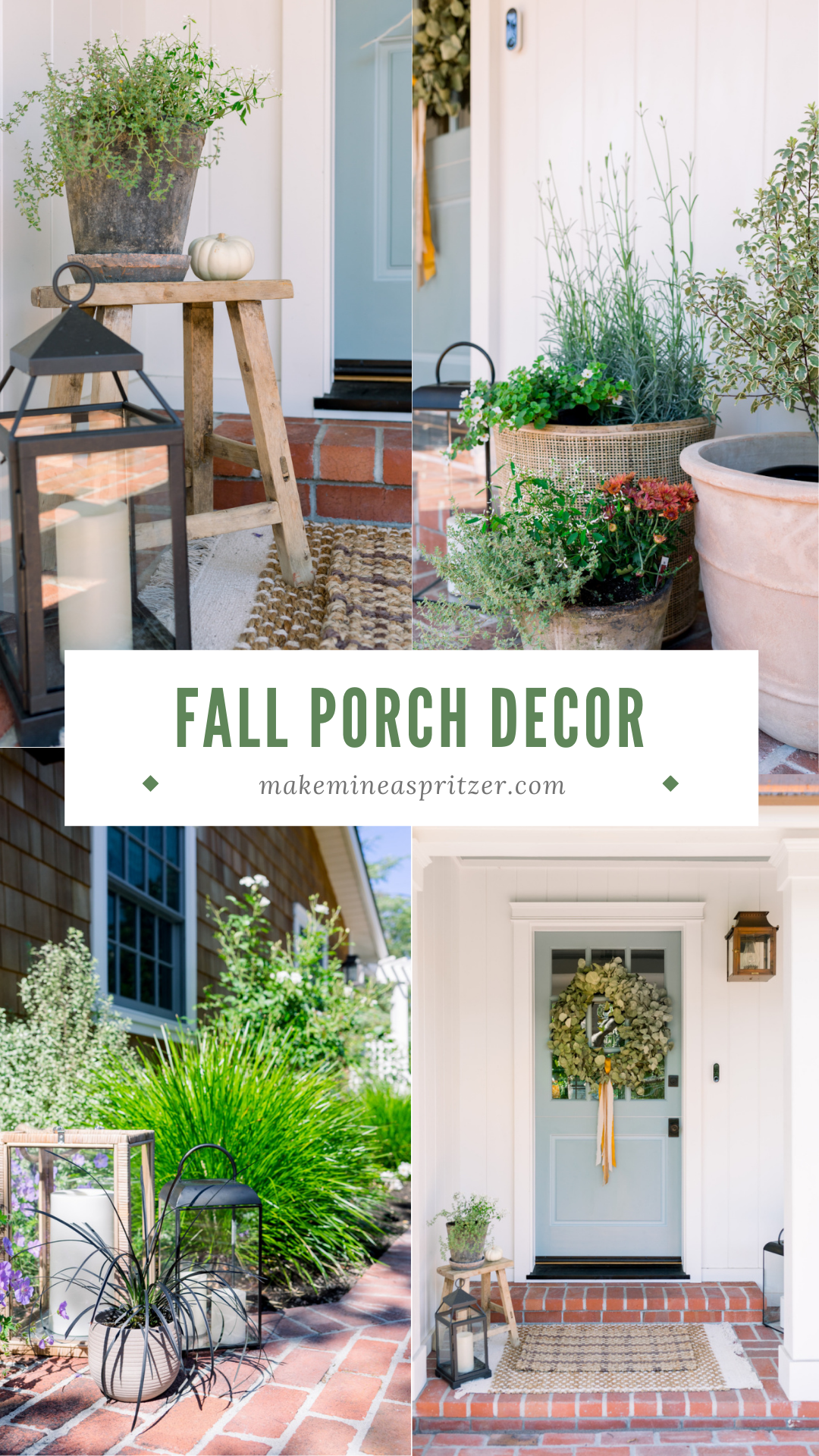 Fall Porch Pin Collage